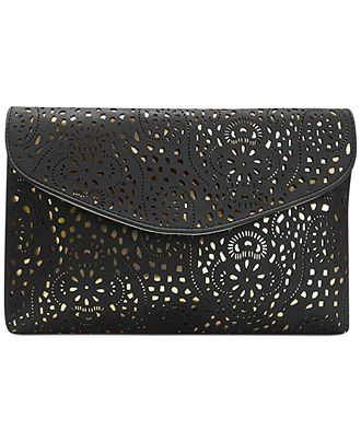 Steve Madden Blaceee Clutch Clutches Evening Bags Handbags Accessories Macy S 42 99