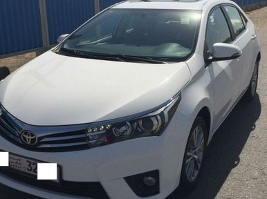 Toyota Corolla 2014 2 0 L Limited Full Option With Sun Toyota Corolla Full Option Toyota