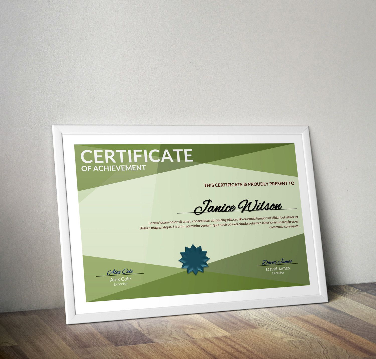 Multipurpose Certificate Word Template Diy Certificate Template