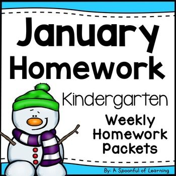 Strange Kindergarten Homework January English Only Aligned To Cc Download Free Architecture Designs Scobabritishbridgeorg