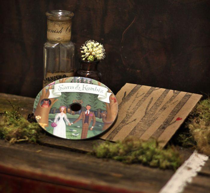 Wedding Favor Song CD Music List Too