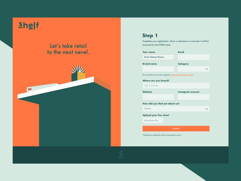 Shelf Apply Now Creative Web Design How To Apply Web Design