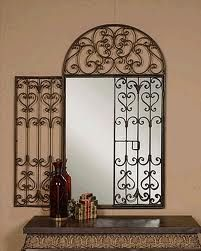Wrought Iron Mirror Diy In 2019 Wall Decor Wrought