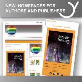 Homepages für ebook Autoren Und eBook Verlage.  http://www.feiyr.com