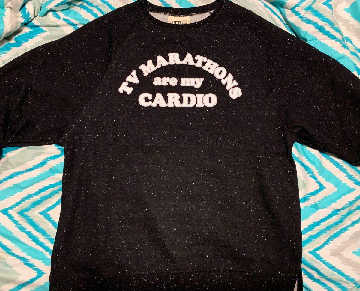 23+ Tv marathons are my cardio inspirations