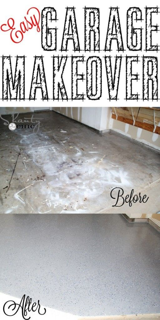 Easy garage floor makeover project the homestead survival easy garage floor makeover project the homestead survival diy solutioingenieria Image collections
