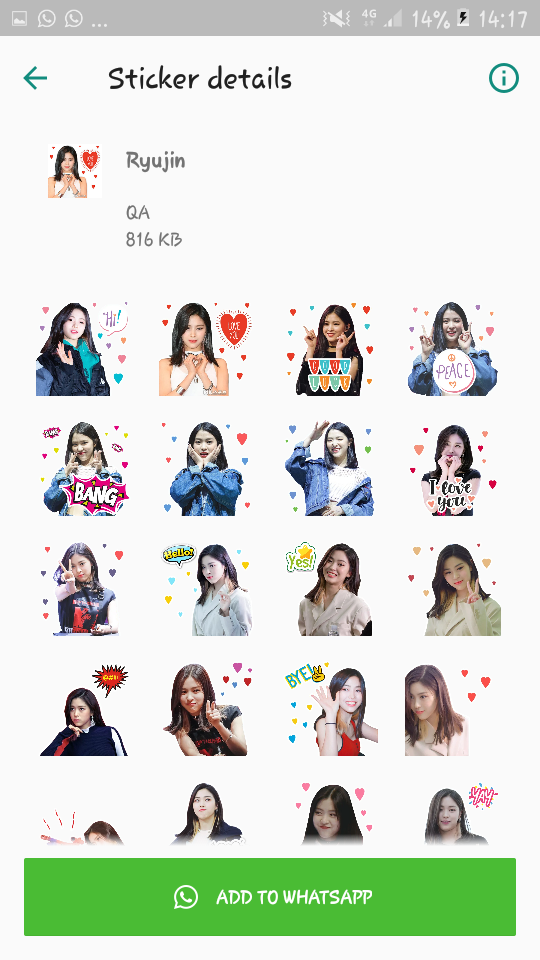 Pin On Itzy Stickers