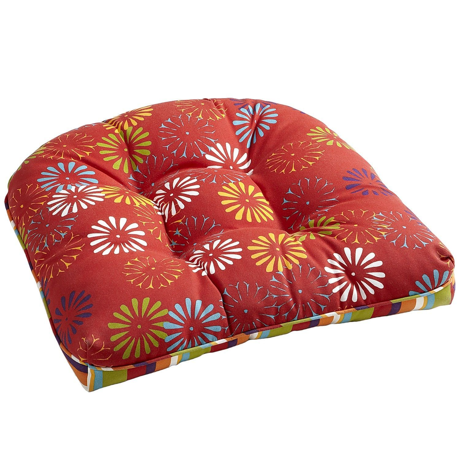 Scatter Daisy Cushion Indoor Outdoor Chair Cushions Outdoor Chair Cushions