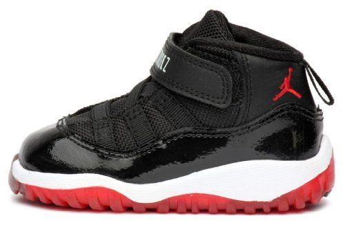 official photos c5bd5 b1cdc NIKE JORDAN 11 RETRO (TD) TODDLER 378040 010 BRED on Sale ...