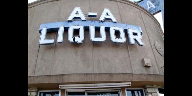 A bad sign name (nomdeweb via Reddit) | Funny signs | Liquor