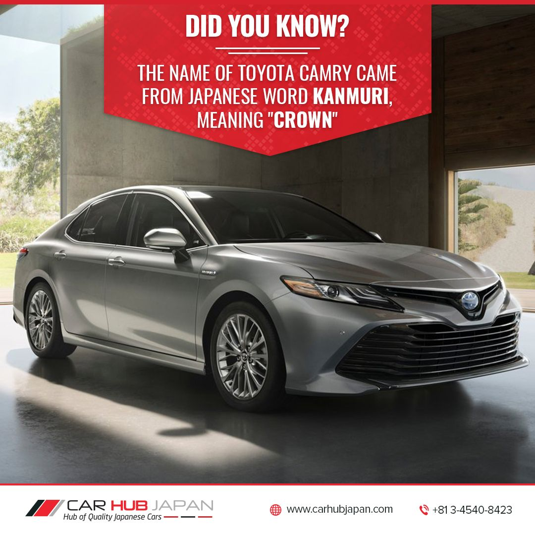 Toyota Camry Has Remained One Of The Best Selling Car In Usa For The Past Fifteen Years Toyota Camry Carhubjapan