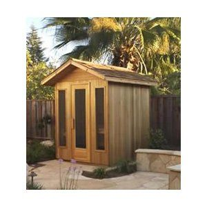 Outdoor Sauna   Kit To Build Your Own!
