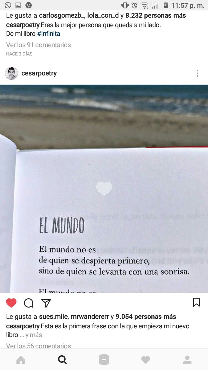 Pin De Rebeca En Cesarpoetry Frases Amor Y Textos