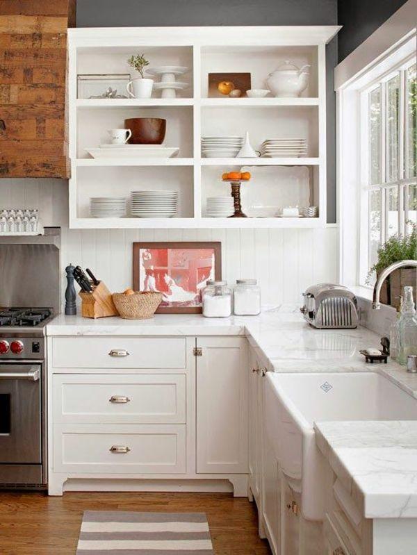 Schmale Regale Küche