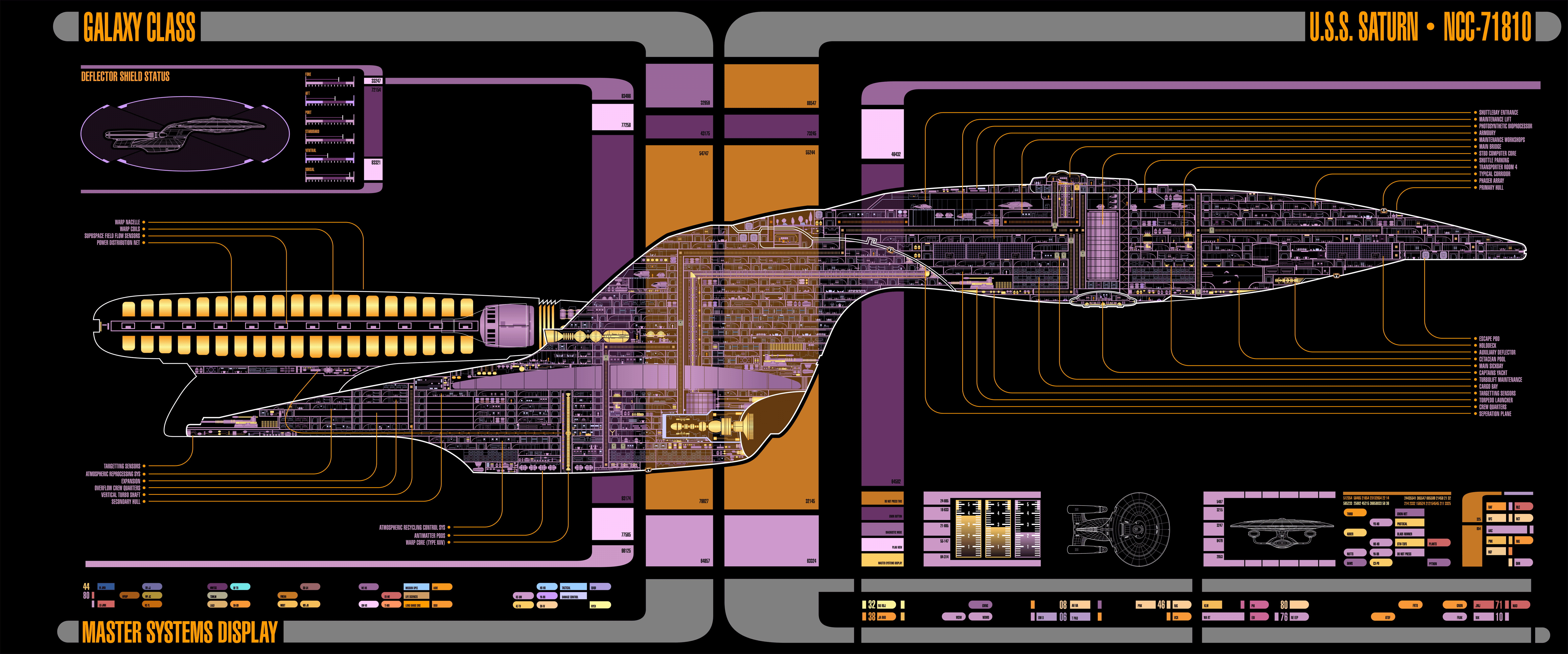 small resolution of enterprise d with additional detail by padsbrat star trek iii star wars alien ship