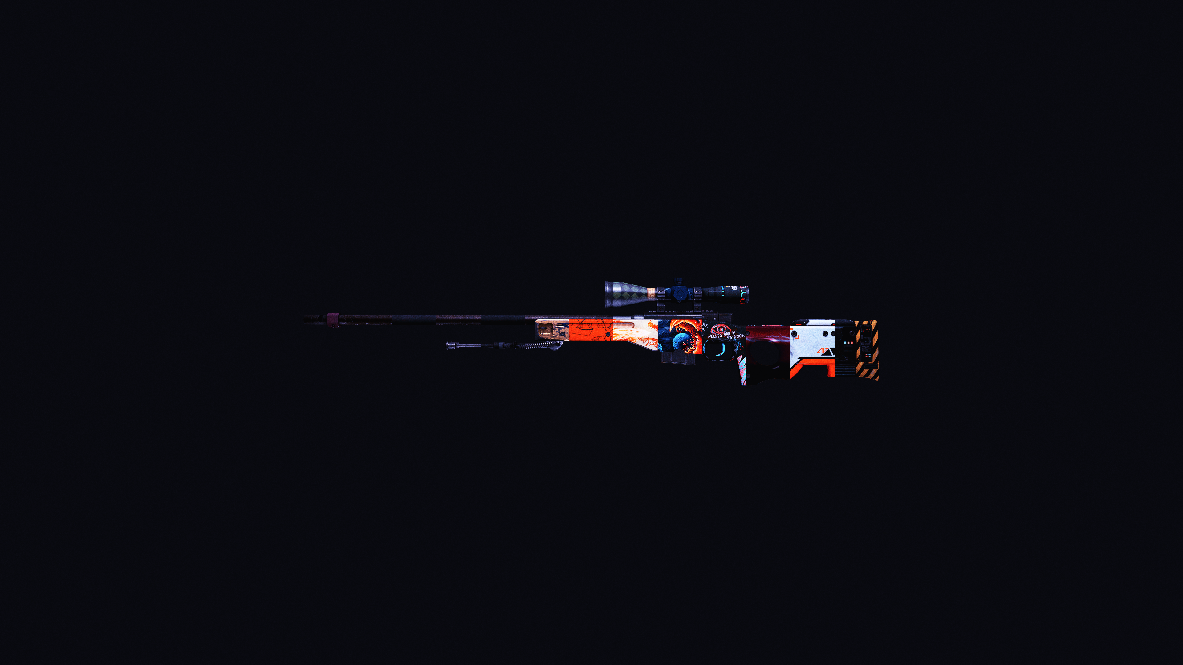 4k Wallpaper Awp Skins United Games Globaloffensive