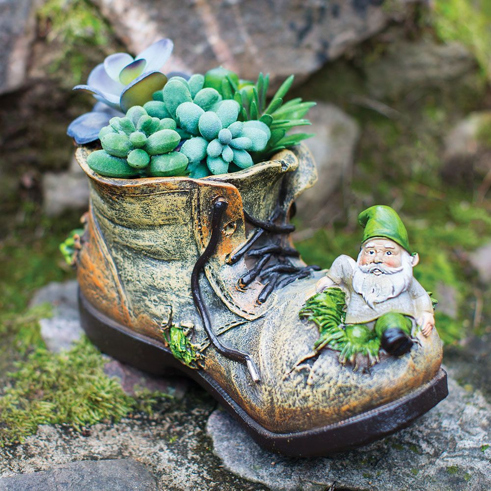 Leprechaun Shoe Planter Creative Garden Pots St Patrick S