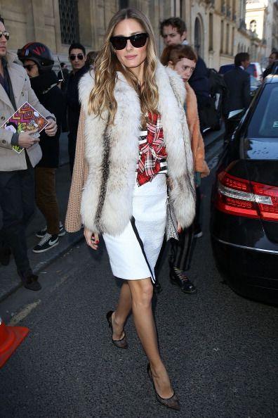Olivia Palermo - Semana de Moda de Paris (Março 2014)