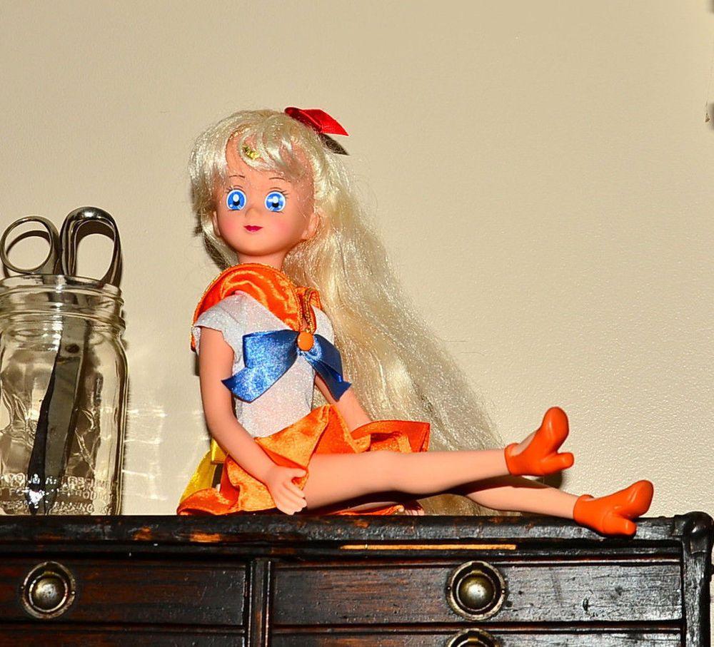 """Sailor Venus action figure 17"""" adventure doll Sailor Moon #Irwin"""