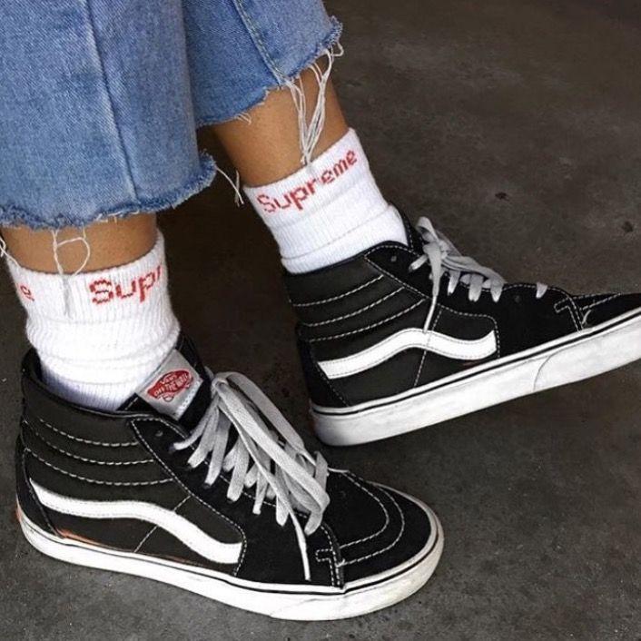 vans femme plateforme chaussure