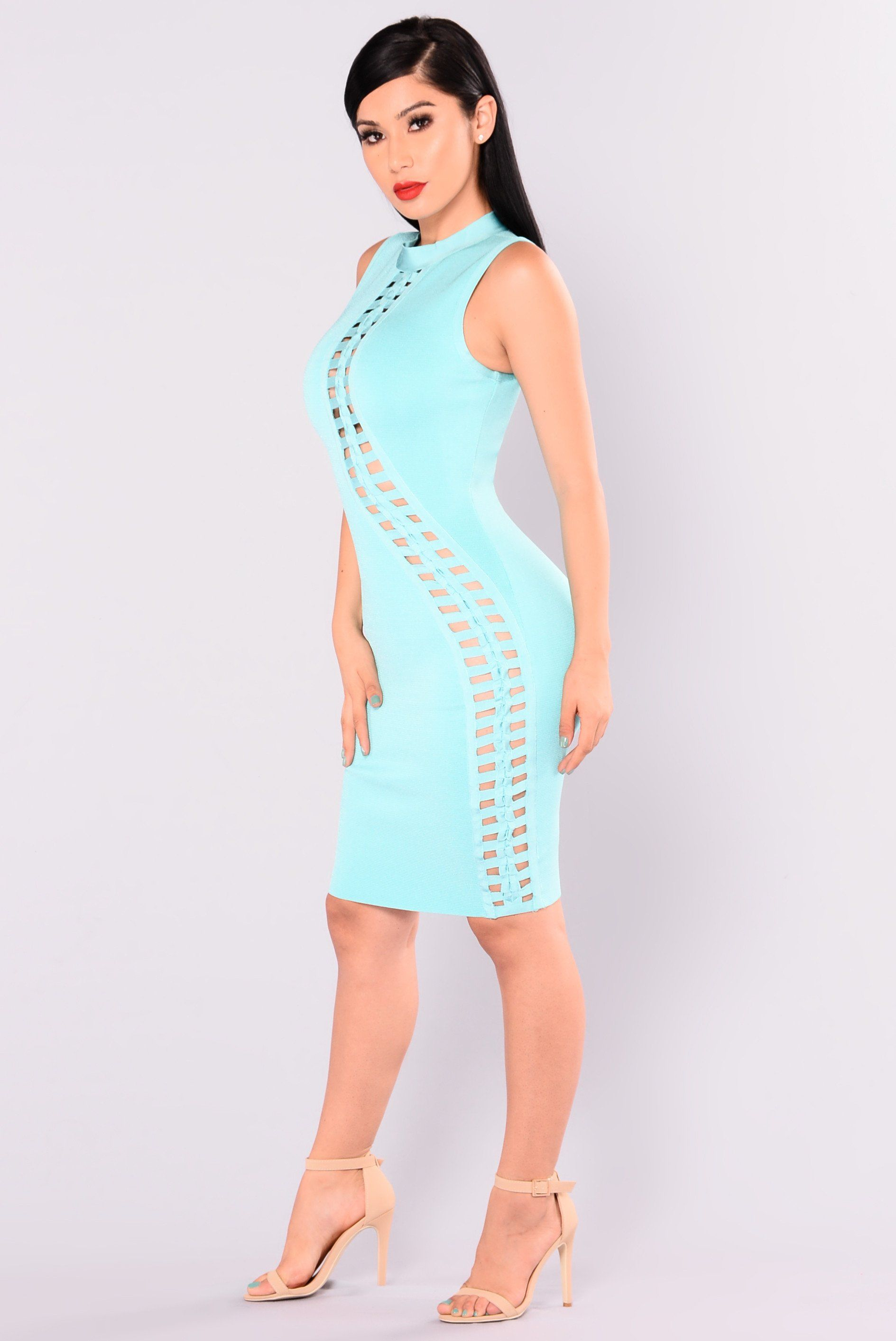 Party Monster Bandage Dress - Jade | Jade, Exotic women and Exotic ...