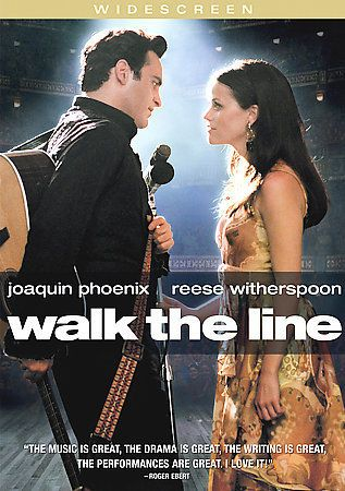 Walk the Line DVD (2006) Widescreen • Joaquin Phoenix • Reese Witherspoon
