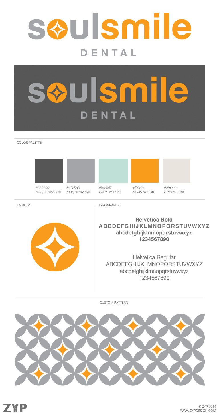 Soulsmile Graphic Design Marketing Dental Branding Boutique Graphic Design