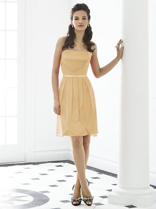After Six Bridesmaid Dress 6650 http://www.dessy.com/dresses/bridesmaid/6650/?color=venetian%20gold&colorid=965#.Ut5pNH88KSM