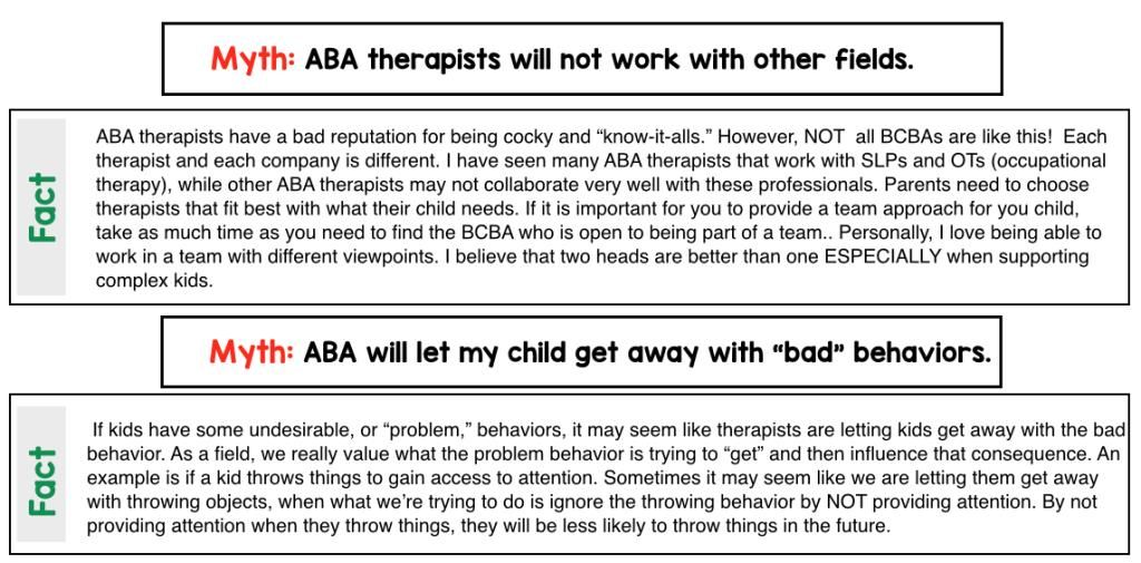 ABA 101 ABA and Behavior Reduction Autism helper, Aba and Autism - vice president of operations resume