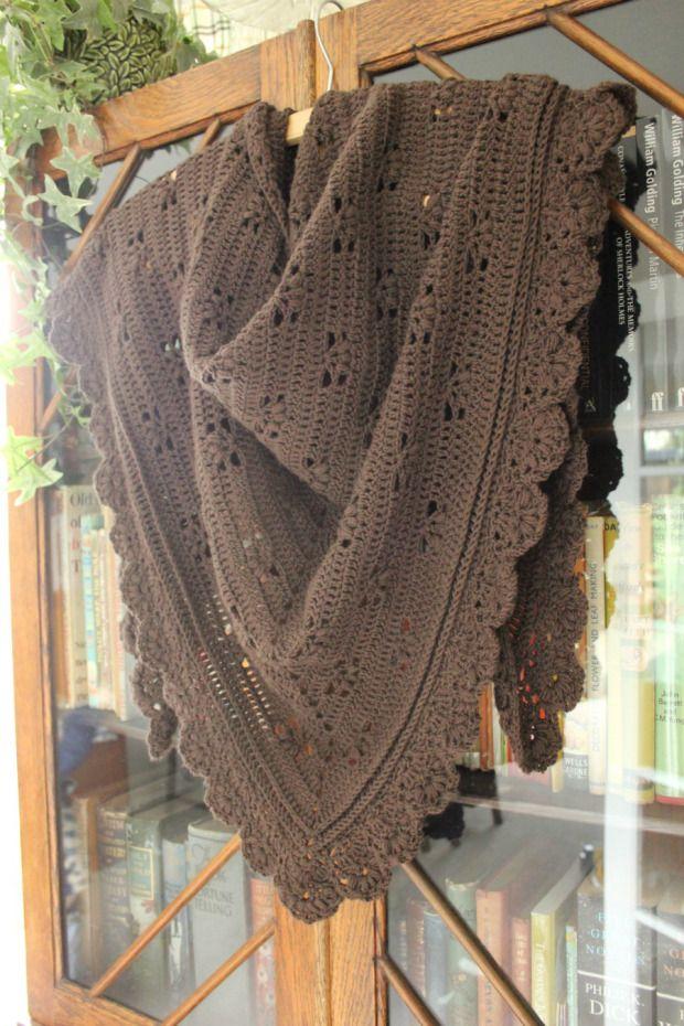 Cherry Heart's Victoria Shawl. Fab pattern.