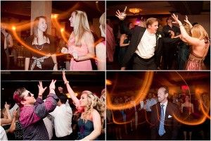In this fantastic photograph, taken by Captured Photography by Jenny, guests talk, sing, and dance to the music of The John Parker Band at a wedding reception held at The Addison, Boca Raton. The bride and groom at this gorgeous peacock blue and pink wedding had a blast at the party - as you can see! http://www.jpband.com/weddings.html