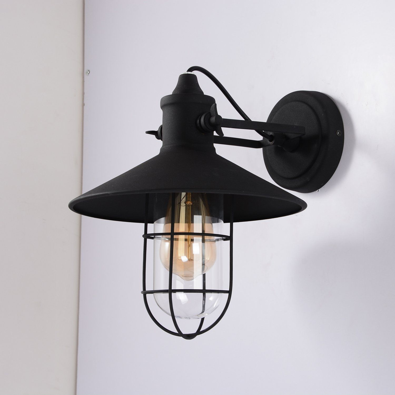 Amazon Com Sunwe Vintage Style Industrial Wall Lamp Mini Retro