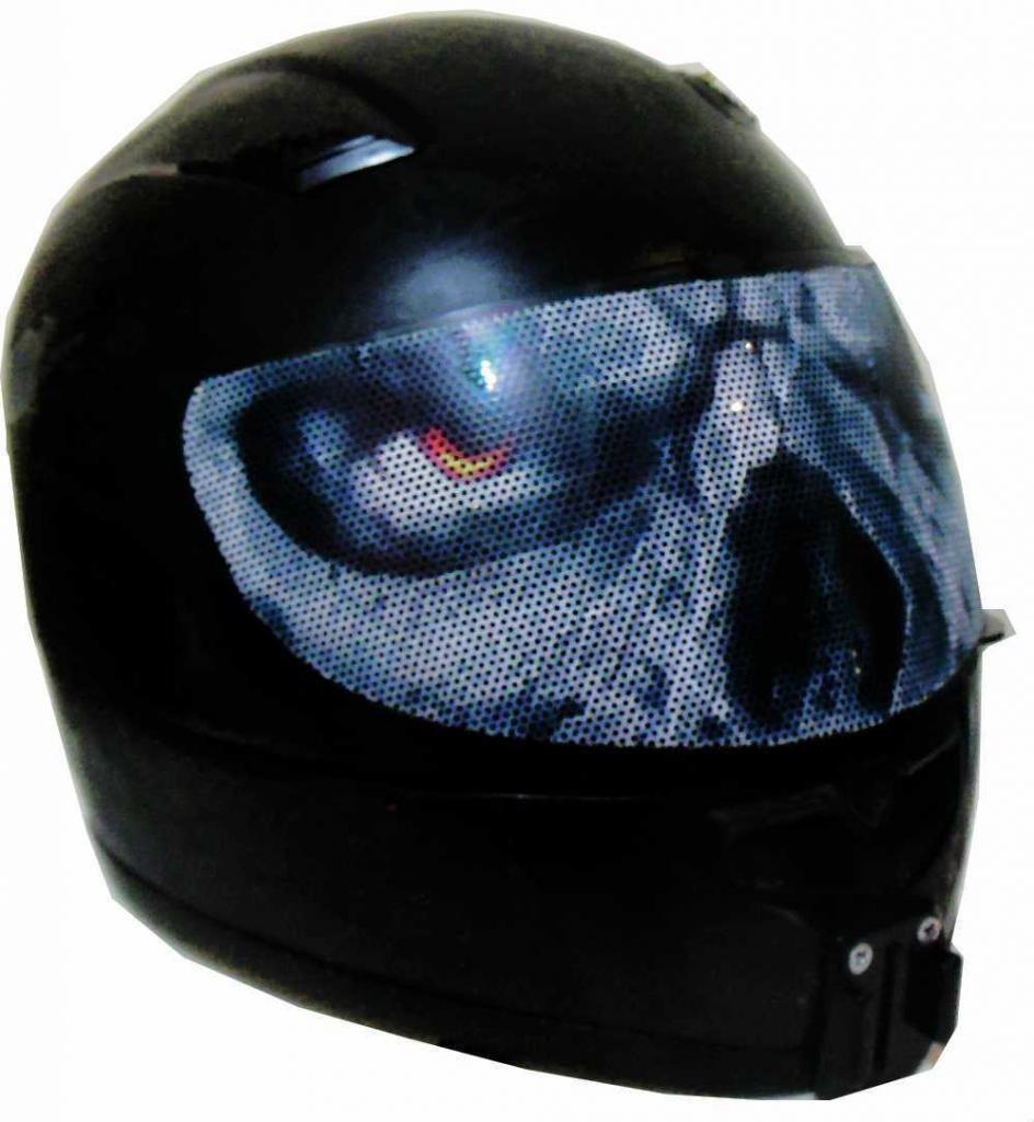 Evil Eyes Motorcycle Helmet Visors Sticker Helmet Visor Motorcycle Helmet Visor Helmet
