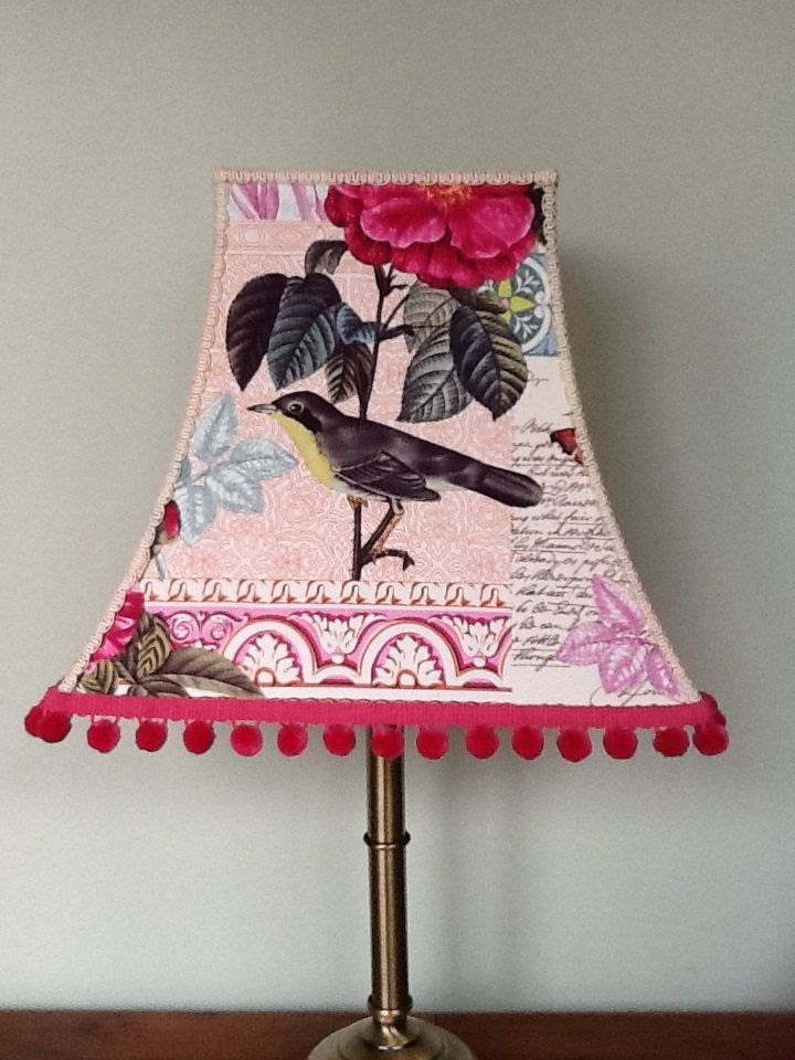 Belle Rose Handmade Lampshade by Oohlalalampshades on Etsy