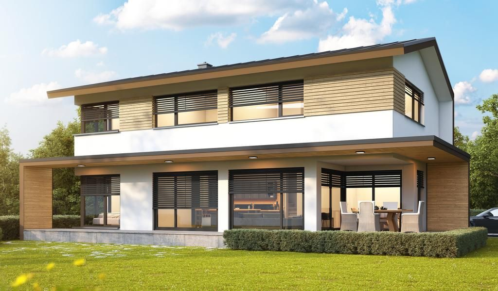 Kötz Haus Ziegelmassiv und schlüsselfertig Architektur