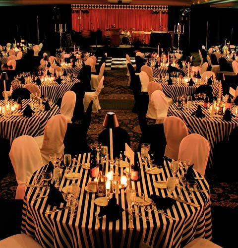 image detail for black tie event theme decor event gallery