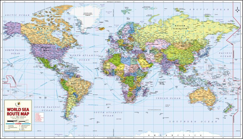 Buy world wall maps buy map pinterest mapas del mundo mapa buy world wall maps gumiabroncs Image collections