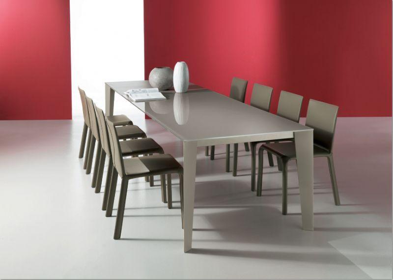 Tavolo Cruz 01.80 L. 120 x P. 80 cm tavoli moderni allungabili ...