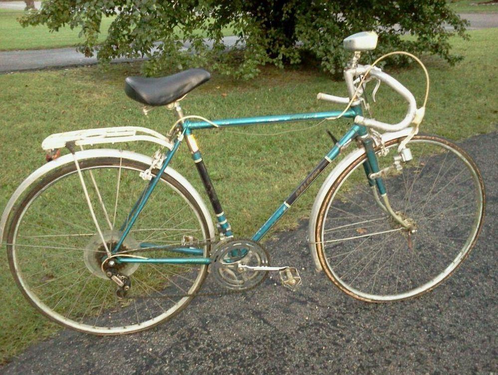 vintage raleigh grand prix touring randonneur road bike. Black Bedroom Furniture Sets. Home Design Ideas