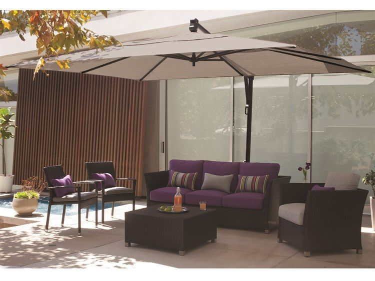 Treasure Garden Cantilever Akzrt Aluminum 10 X 13 Foot Rectangular Umbrella Patio Umbrella Patio Decor Patio Umbrellas