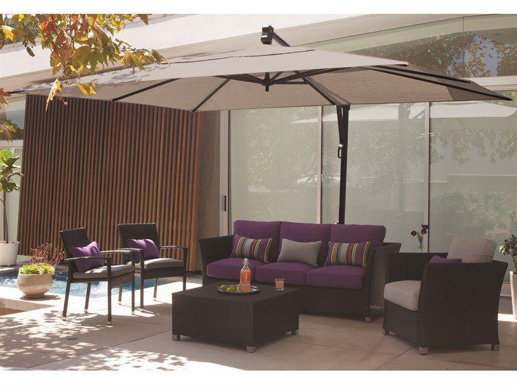 Treasure Garden Cantilever Akzrt Aluminum 10 X 13 Foot Rectangular Umbrella Patio Umbrella Patio Decor Patio Umbrellas
