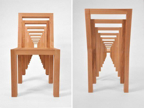 Incredible Optical Illusion In Chairs.   For The Home   Pinterest