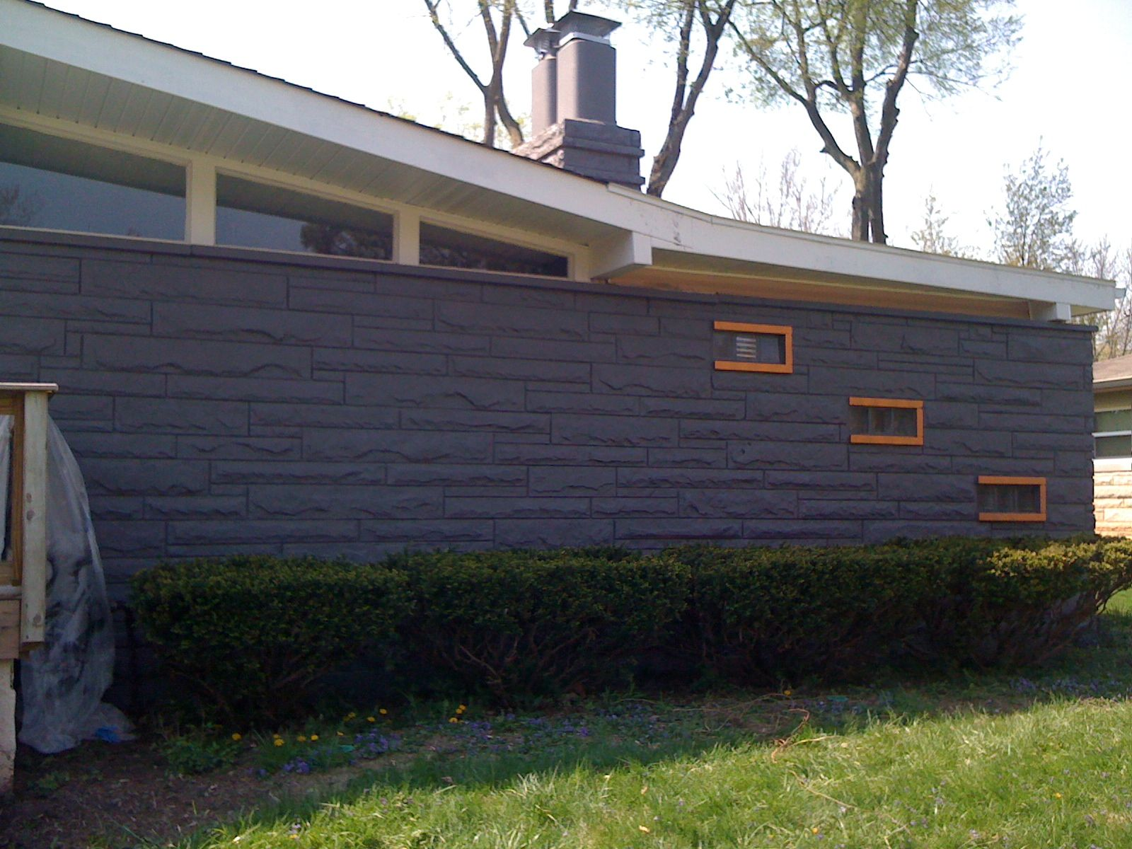 Contemporary Exterior Paint Colors Mid Century Modern Atomic Indy ...