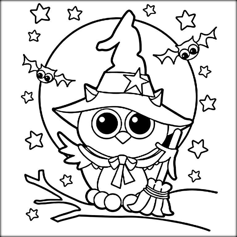 - Halloween Coloring Sheets Free Halloween Coloring Pages, Owl Coloring  Pages, Halloween Coloring Pages Printable