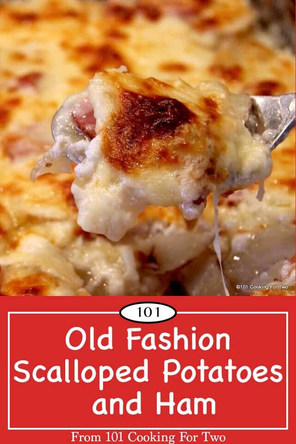 Old Fashion Scalloped Potatoes and Ham images