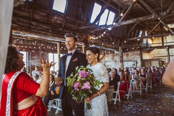 Boho Greenpoint Loft Wedding