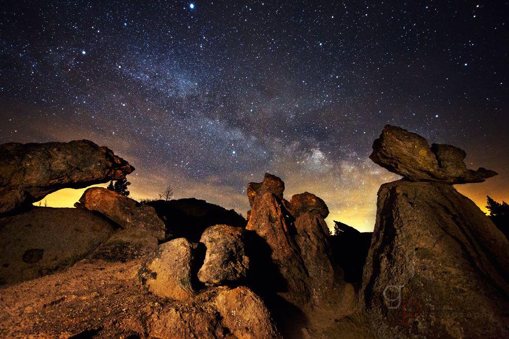 Standing Still: Balancing Rocks in Central Oregon.