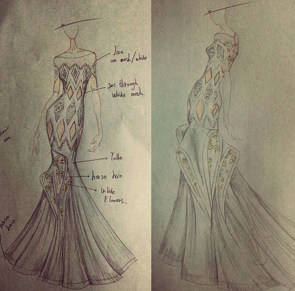 custom made wedding gown sketch wedding gowns from scratch starting at 899 design