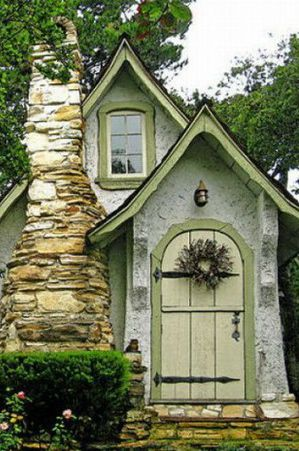 Hugh Comstock S Fairytale Cottages By The Sea House In The Woods Fairytale House Tiny Cottage