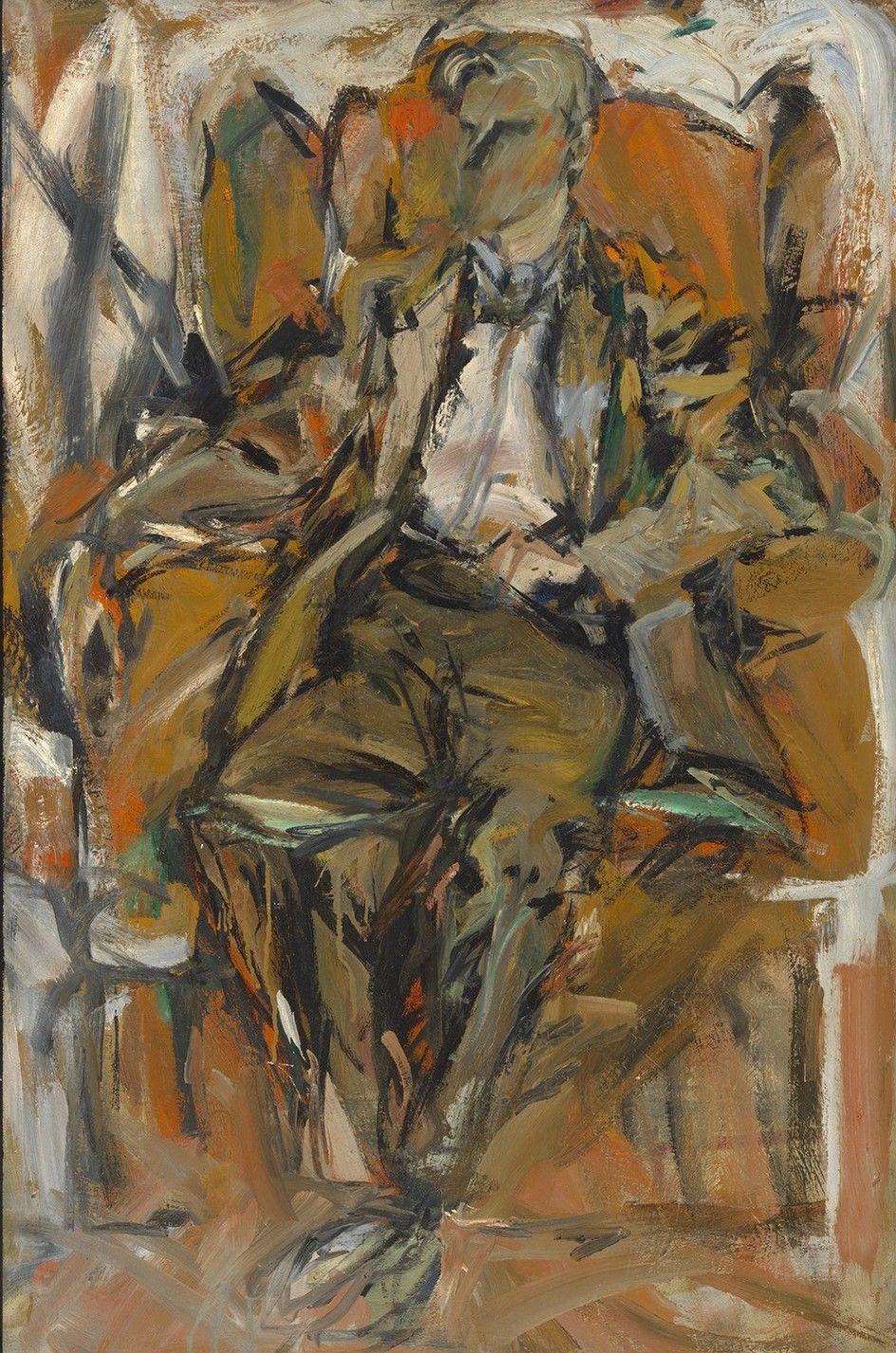 Elaine de Kooning  Willem de Kooning 1952 Oil on panel